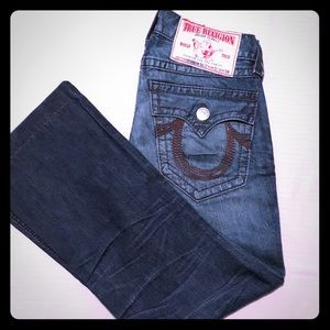 True Religion Rainbow Billy jeans (hemmed)